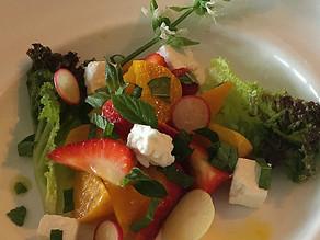 Strawberry & Golden Beet Salad