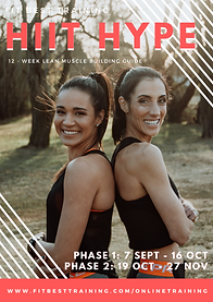 Pre-Sale: HiiT HYPE: Phase 1 (6-week Challenge)