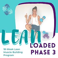 LEAN 6-Week Program (Phase 3)