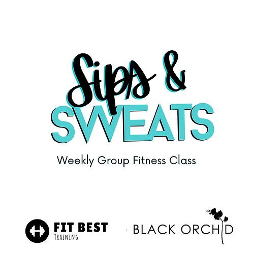 Sips & Sweats Facebook Classes (Facebook ONLY)