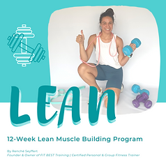 LEAN 6-Week Program (Phase 1)