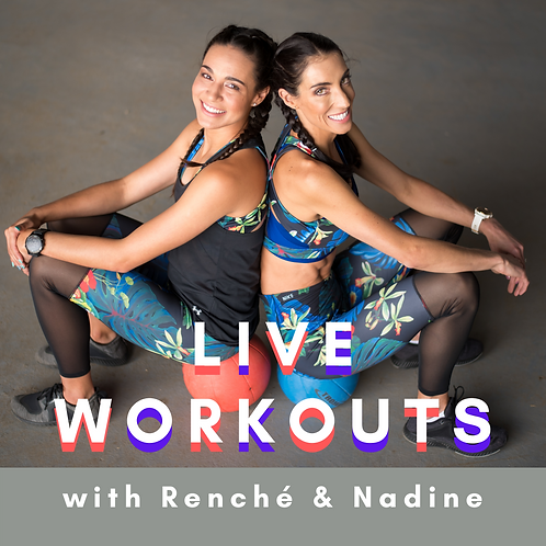 NOV: LIVE Workout Sessions (Pay per Week)