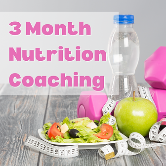 3-Month Nutrition Coaching Package