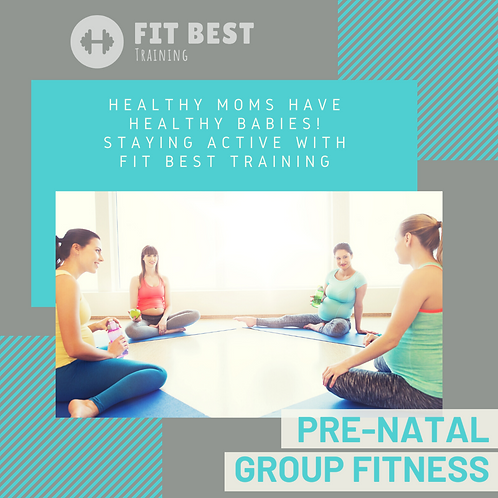 Pre-Natal LIVE Workout Sessions (Pay per Month)