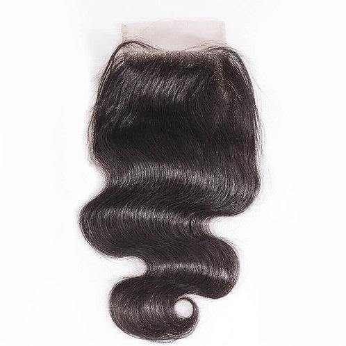 Brazilian Body Wave 5X5 Lace Closure 100% Human Hair