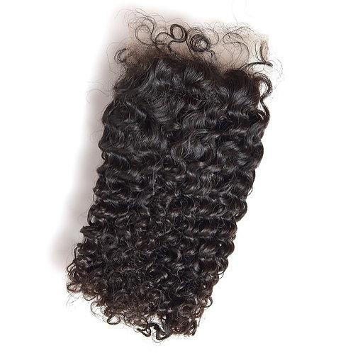 Brazilian Curly 4X4 Lace Closure 100% Human Hair