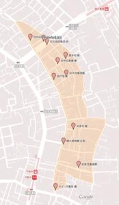 地図:集団回収ポイント