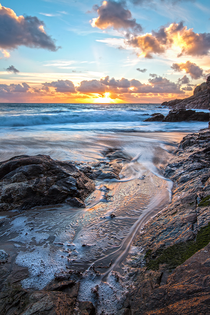 Rinsey Cove Sunset-Gen