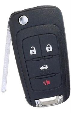 car remote fob lasercut flip key