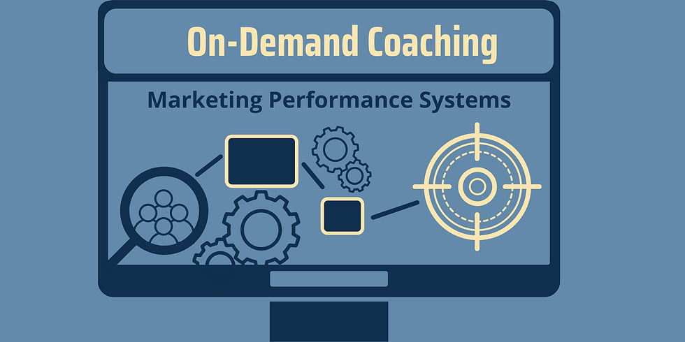 on demand marketing performace system