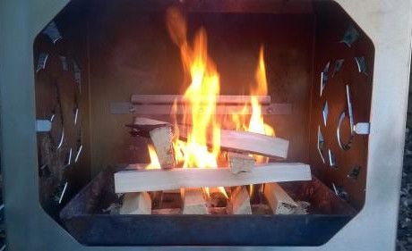 How to light a wood fire fast and smoke free!