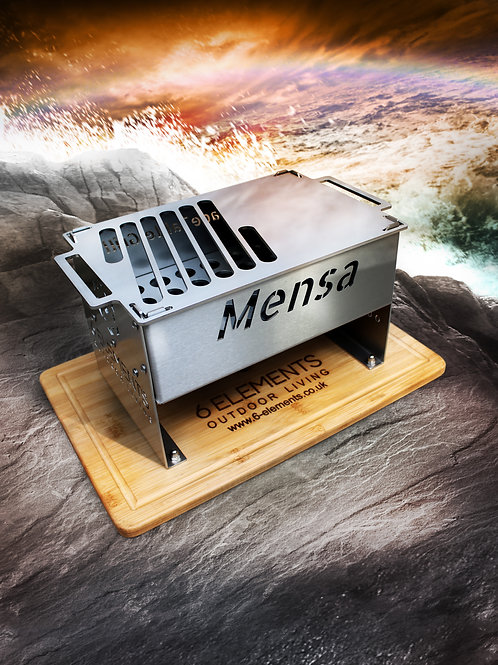 Mensa Braserade - Stainless Steel Barbeque Table Grill by 6 Elements