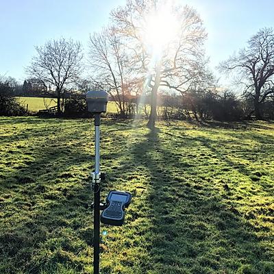 Trimble R10 GPS survey