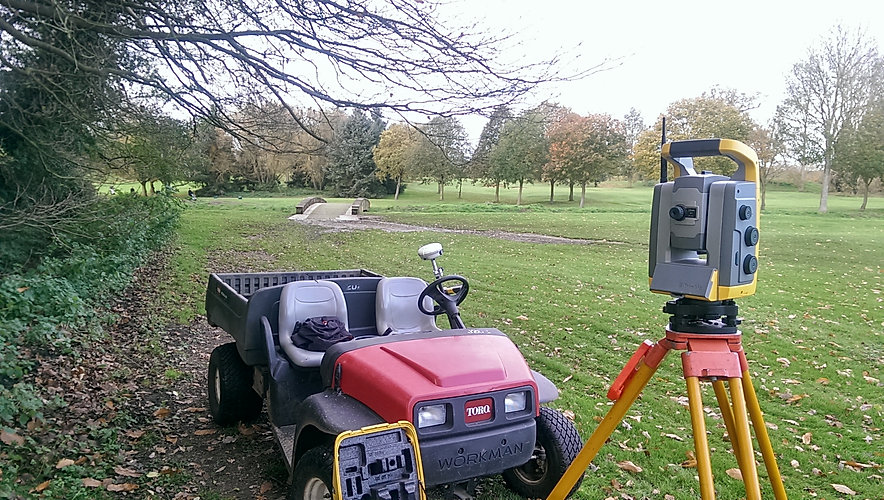 Golf Course land survey