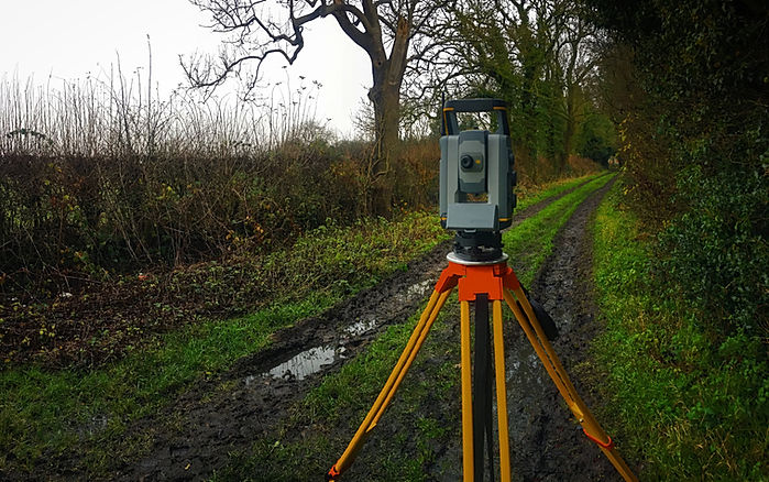 Trimble Total Station Surveying in Leicestershire