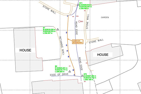 Boundary Survey Derbyshire