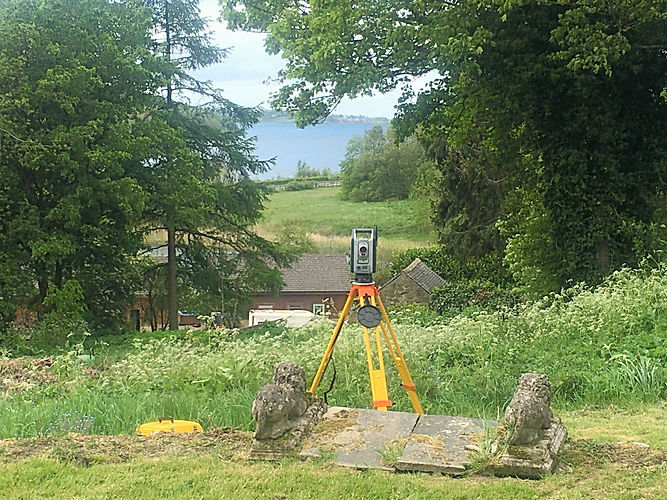 Topographical Land Survey in Derbyshire