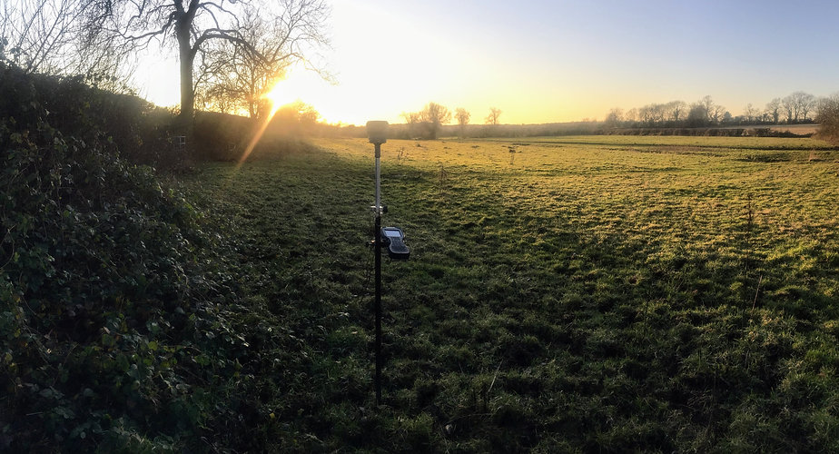 GPS land survey in Leicestershire