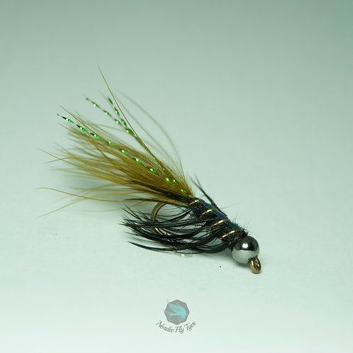 JW Nymph Olive (Tungsten bead) - Single