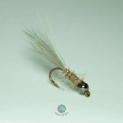 JW Nymph Hare's Ear (Tungsten bead)  - Single