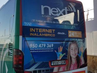 ¡Next Comunicaciones sigue promocionando su imagen!