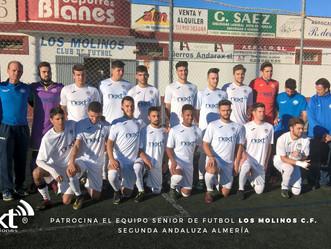 """NEXT PATROCINA """"LOS MOLINOS C.F."""""""