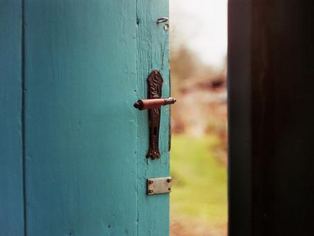 C'est le temps d'ouvrir la porte