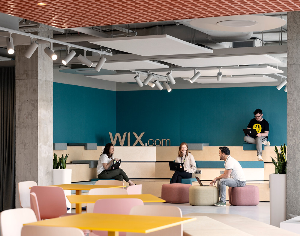 Wix's Dublin office. Creating a multicultural environment