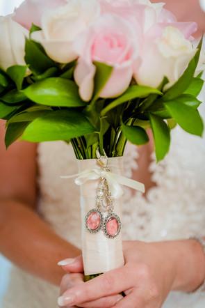 The bouquet at Moon Palace Cancun by Santamaria Team