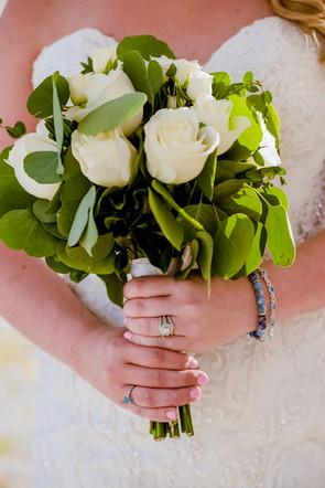 The bouquet in Sandos Playacar