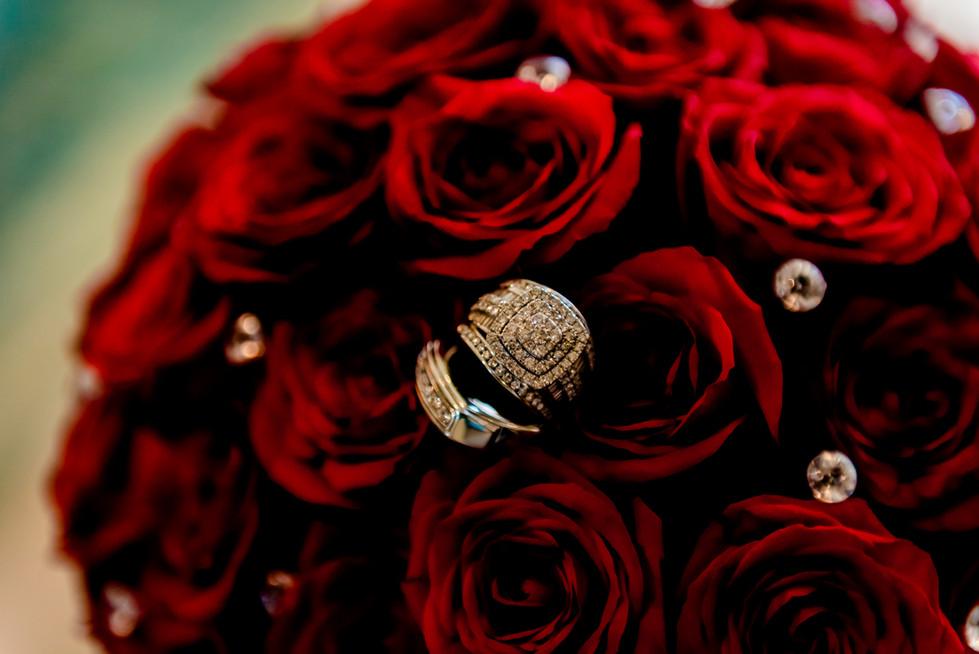 The bouquet in Hilton Playa del Carmen