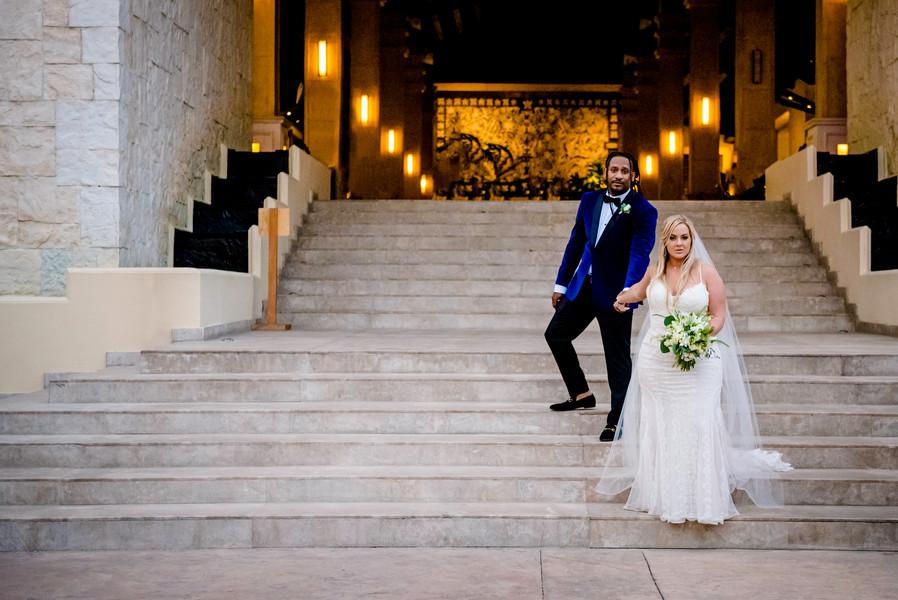 Wedding Photoshoot at Dreams Riviera Cancun by Santamaria Team