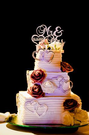 Wedding cake in Ocean Riviera Paradise