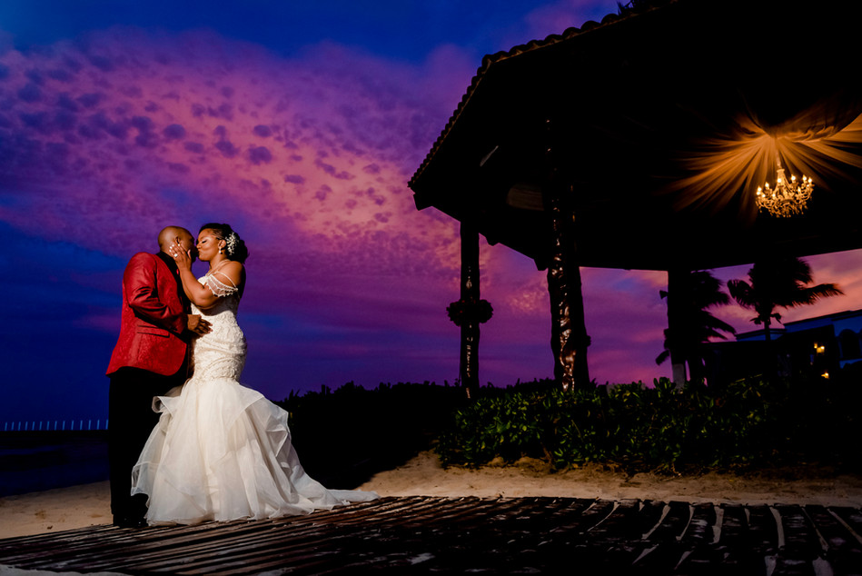 Wedding Photoshoot at Hilton Playa del Carmen by Santamaria Team
