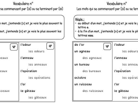 Vocabulaires 5-6H