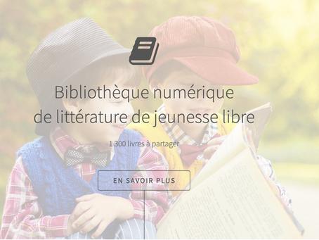 Bibliothèque de littérature jeunesse libre