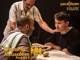 KNM at the theatre- Crossing Jerusalem
