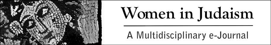 Women in Judaism - a Journal