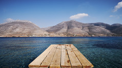 beautiful-view-of-nikouria-with-wooden-d