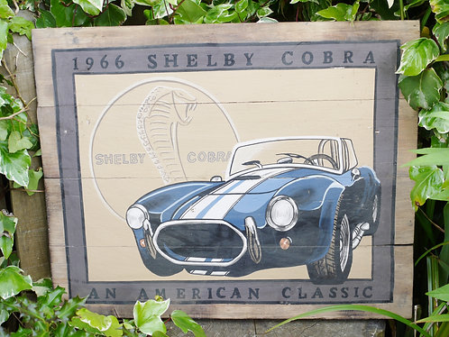 Shelby Cobra Painting