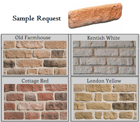 Kentish Town Sample Request Includes Free Postage