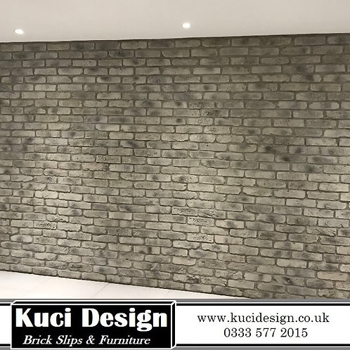 Smoked Grey Brick Slips