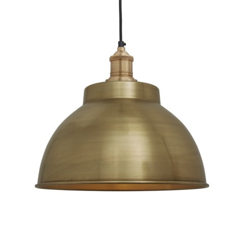 """13"""" Brass Ceiling Light"""