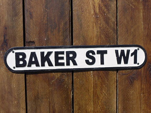 Baker Street Industrial Sign