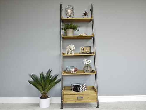 Industrial Shelving and Draw Combo
