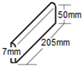 easyfit brick slips measurements