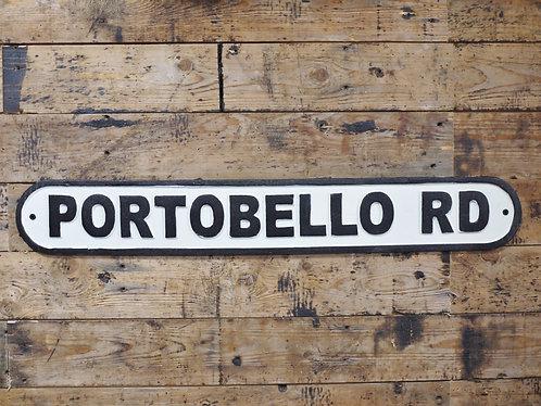 Portobello Road Industrial Sign