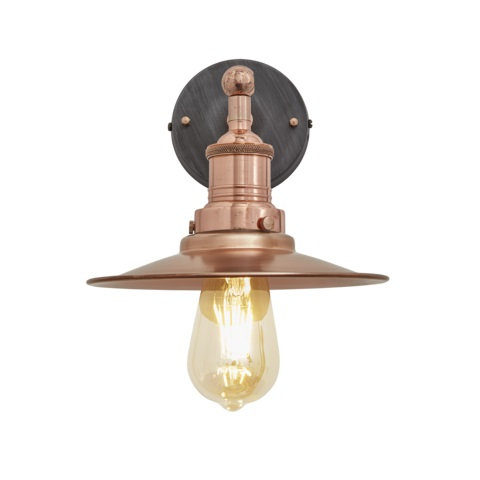 Copper Antique Wall Light