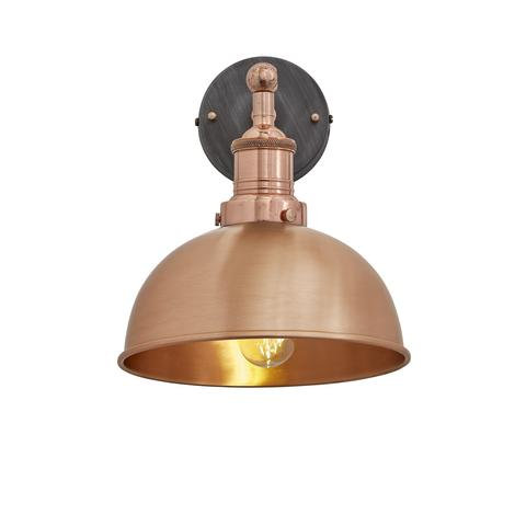 "8"" Copper Wall Light"