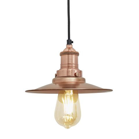 Copper Antique Ceiling Light